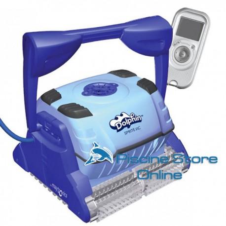 Pulitore robot pulisci piscina automatico Dolphin Sprite RC