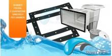 Skimmer piscina per piscine interrate piscinestoreonline for Skimmer per piscine