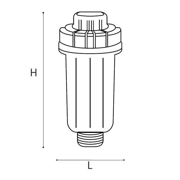 filtro anti calcare