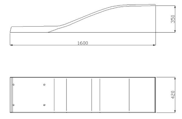 Dimensioni trampolino piscina delfino
