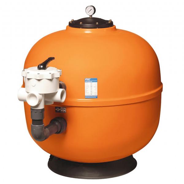 filtro a sabbia piscine fiber class arancione