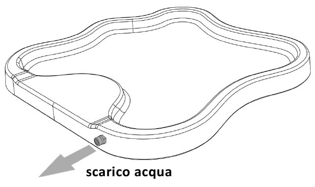 PIATTO LAKE SCARICO