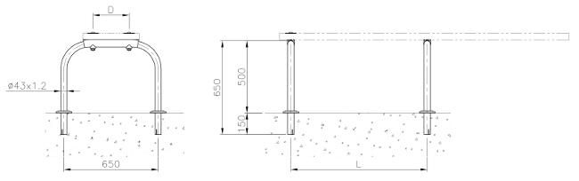 dimensioni supporto tavola trampolino