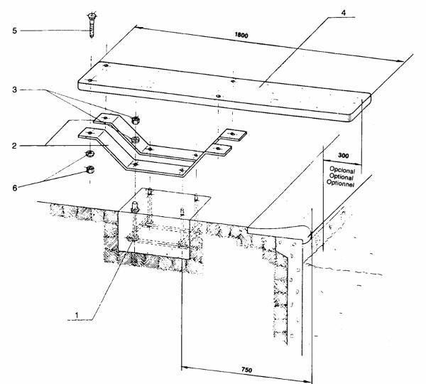 installazione tavola trampolino balestra