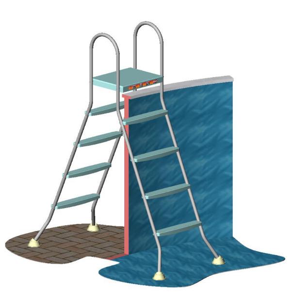 vendita scale a ponte piscine fuori terra
