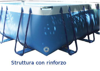 piscina fuori terra made in italy luxe