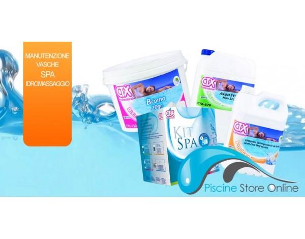 La manutenzione dell'acqua delle vasche spa