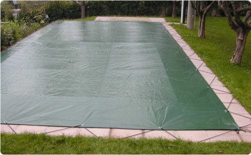 copertura invernale piscina con pioli scomparsa