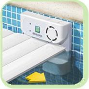 sistema vigilanza piscina allarme sensor espio