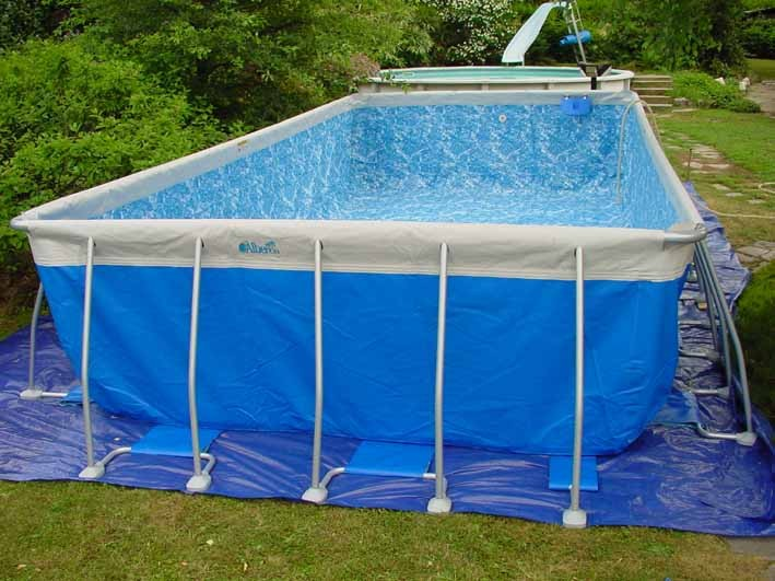 vendita online piscine fuori terra fase montaggio