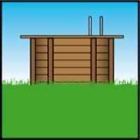 installazione piscina legno