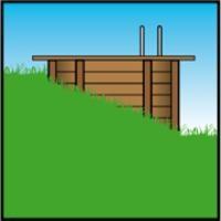 installazione piscina legno semi interrata