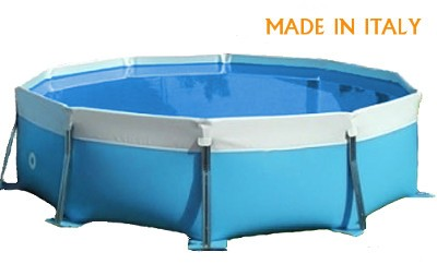piscina fuori terra made in italy