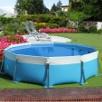 struttura piscina fuori terra tonda