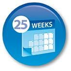 trattamento chimico per 25 settimane