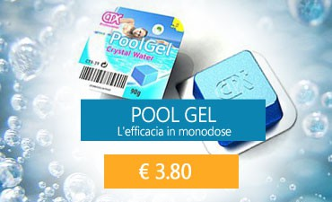 Pool gel monodose per piscina